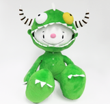 Fabio Napoleoni Whimsical Art Handmade Dragon Boy Plush